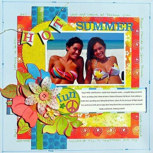 Hot Summer Fun - Basic Grey