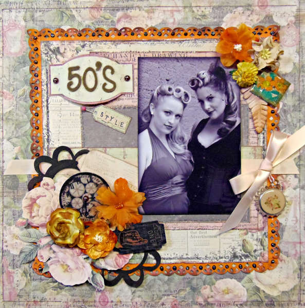 **SCRAPTHAT!** 50's Style