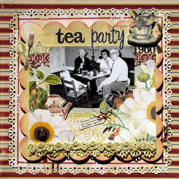 *Websters GDT* 1960  Tea Party