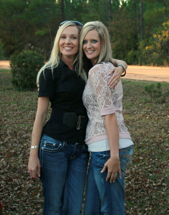Heather and Steph