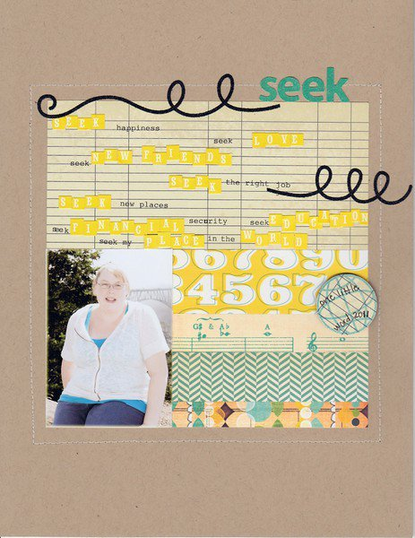 Seek - one little word 2011