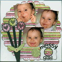 Messy girl