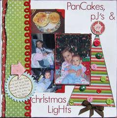 Pancakes, PJ's and Christmas Lights