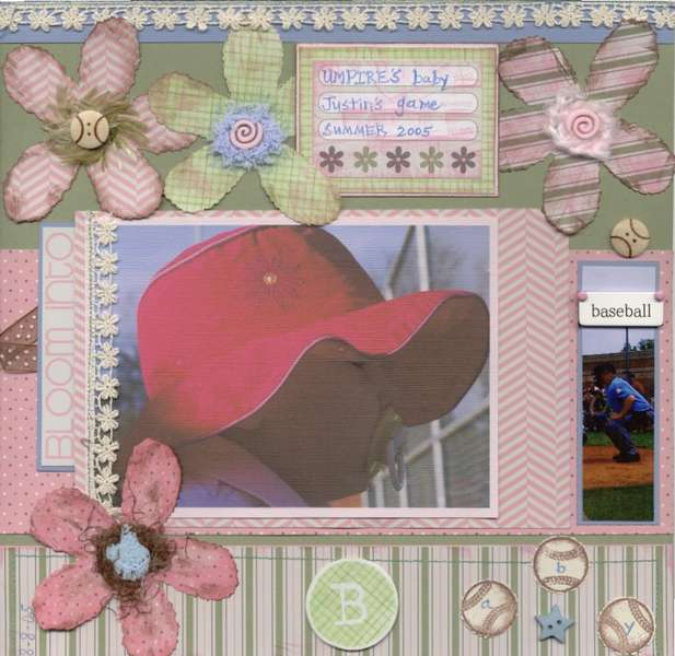 Bloom into Baseball Baby