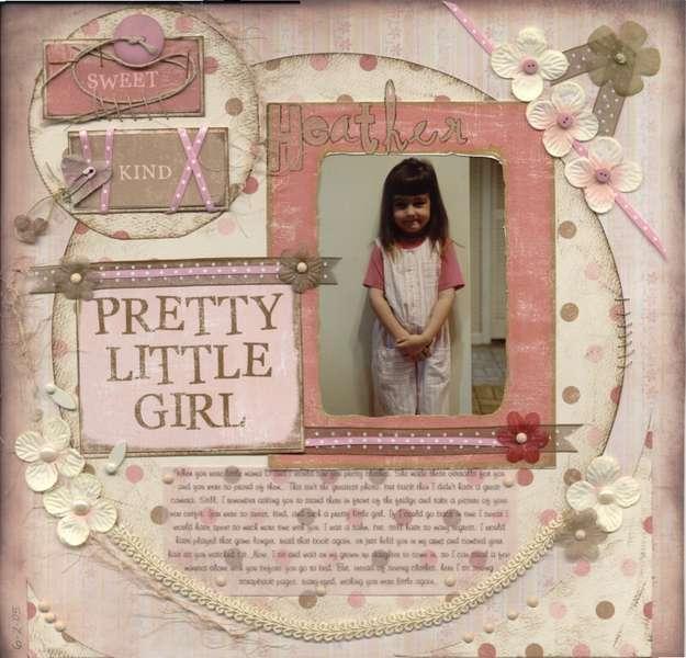 sweet kind pretty little girl