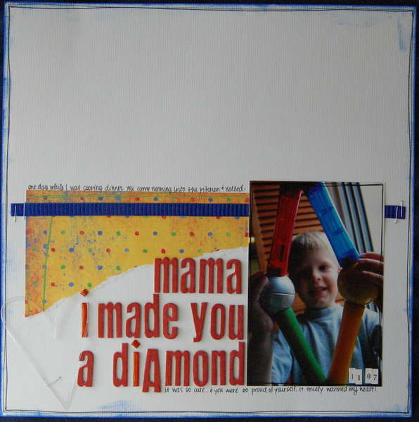 mama i made you a diamond