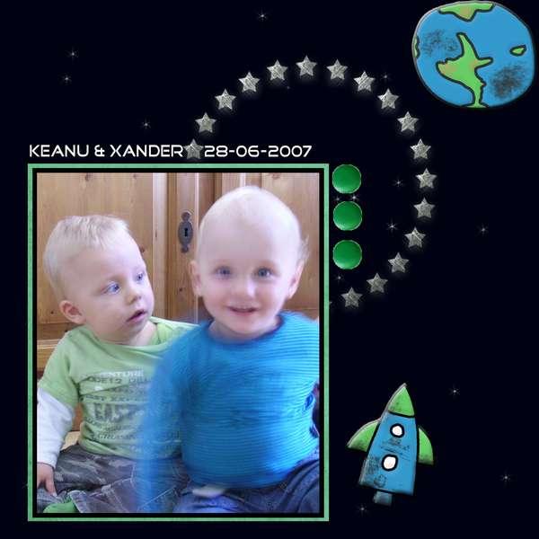 Keanu and Xander