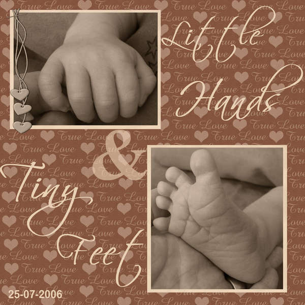 Little Hands and Tiny Feet