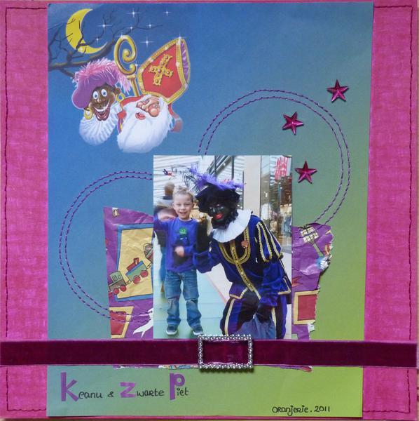 St Nicholas (Keanu & Zwarte Piet)