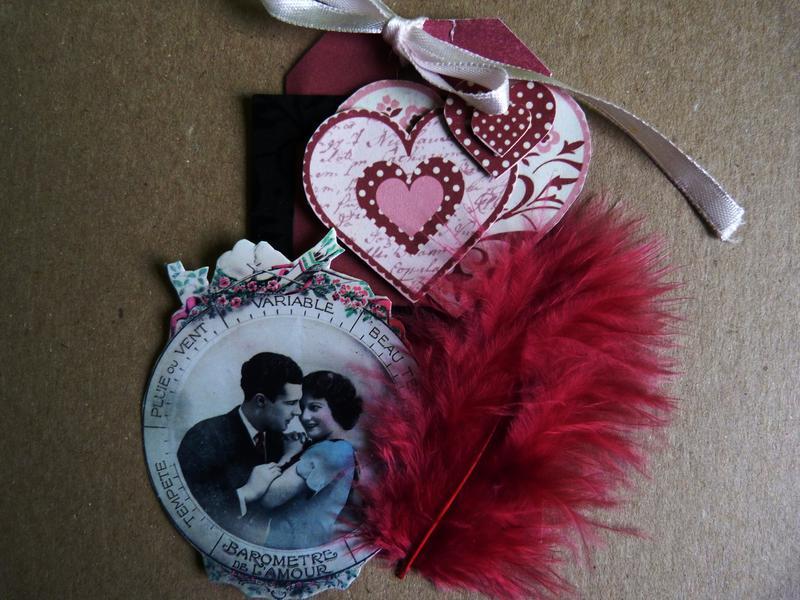 Vintage Valentine Tag