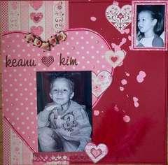Keanu {heart} Kim
