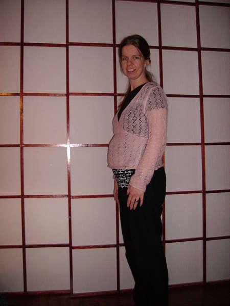 13 weeks belly