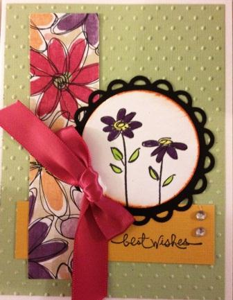 Flower Card Swap - Card 1