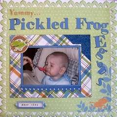 Pickled Frog Eggs