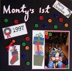Monty's 1st (Christmas)