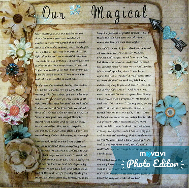 Our Magical . . . (page one)