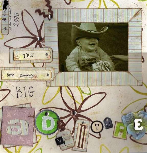 Little Cowboy - left