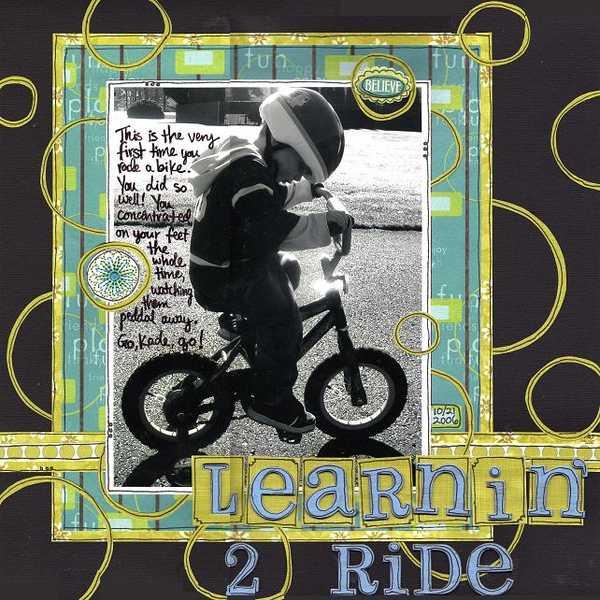 Learnin' 2 ride
