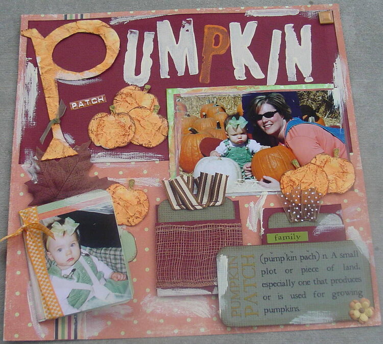 """Pumpkin Patch """"Live and let Dye"""" Challenge"""