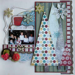 A Happy Holiday - Artful Delight November Kit