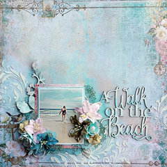 Blue Fern Studios *A Walk on the Beach*