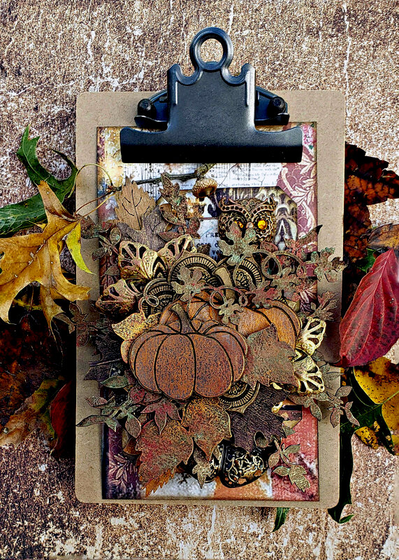 Creative Embellishment *Altered Clipboard*