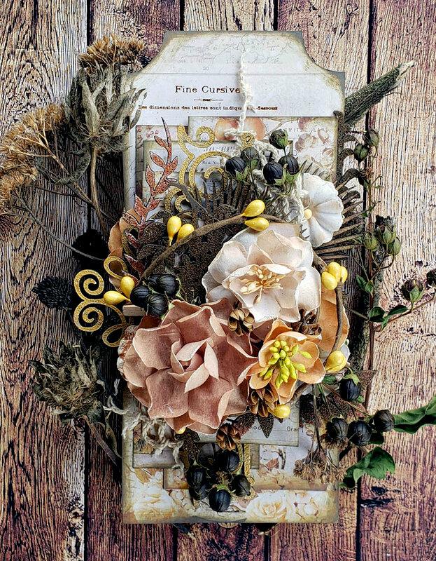 Creative Embellishments * Autumn Tag*