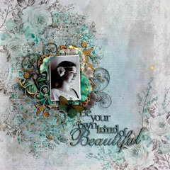 2Crafty Chipboard *Be Your Own Kind Of Beautiful*