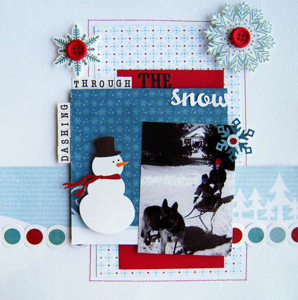 Dashing Through The Snow *My Creative Scrapbook*