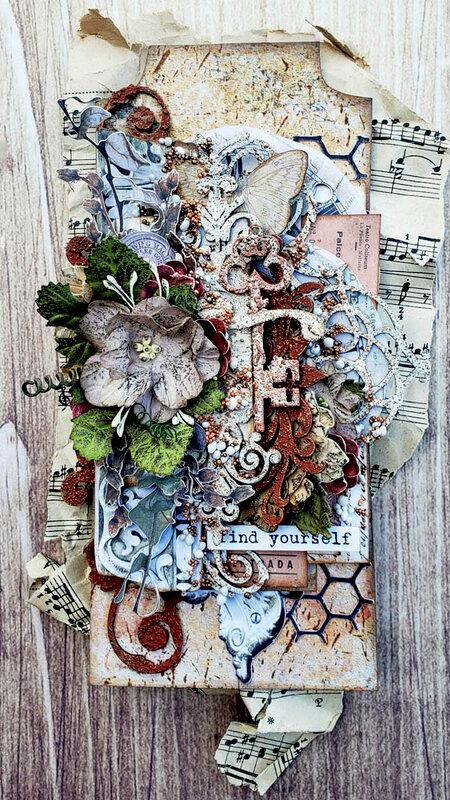 Creative Embellishments *Find Yourself*