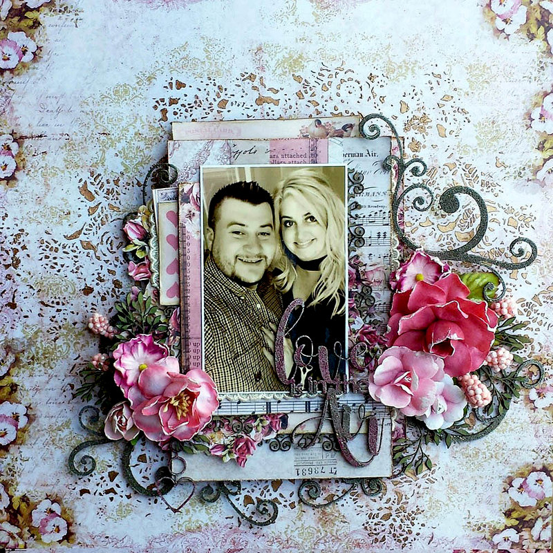 2Crafty Chipboard *Love Is In The Air
