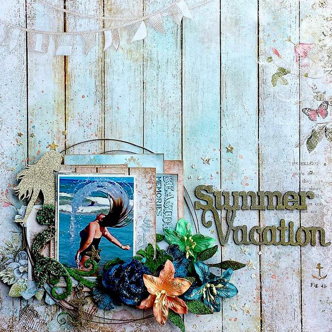 Blue Fern Studios *Summer Vacation*