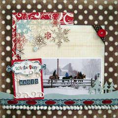 Wintertime Magic *My Creative Scrapbook*