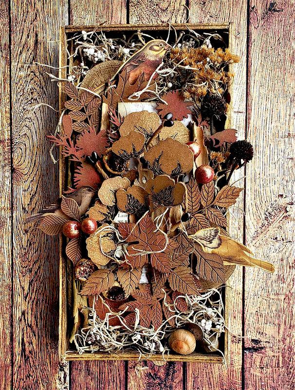 Creative Embellishments *Autumn Inspired Shadow Box