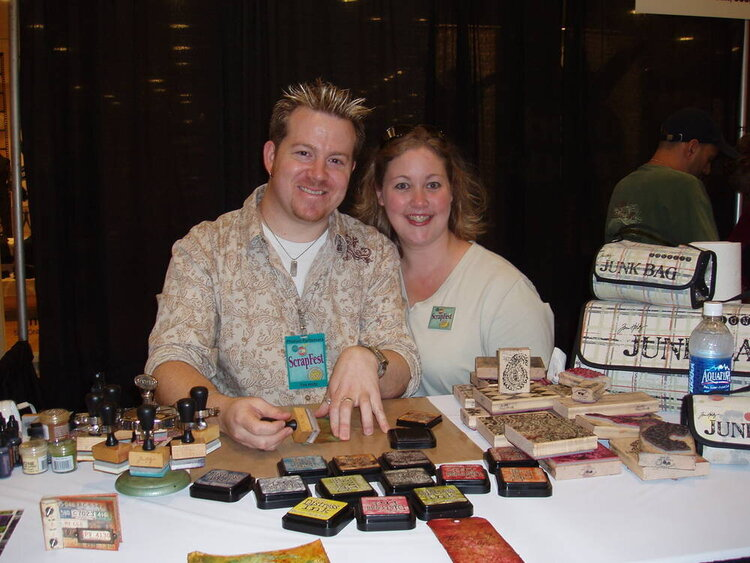 Tim Holtz and me