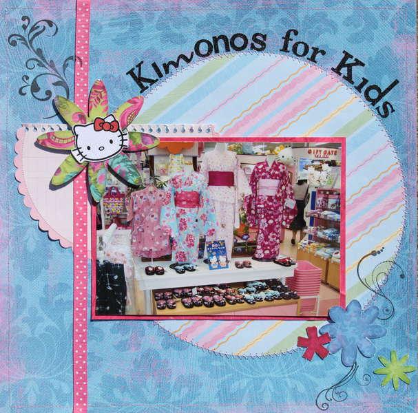 Kimonos for Kids