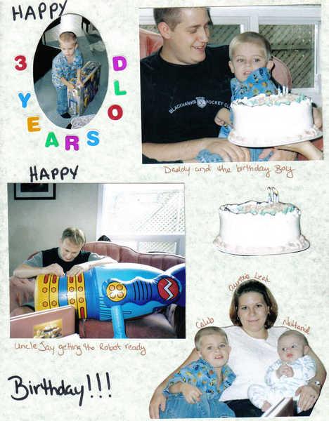 CALEB'S 3RD BIRTHDAY