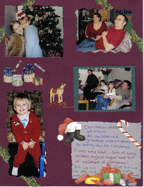 CHRISTMAS AT MOM'S 2003