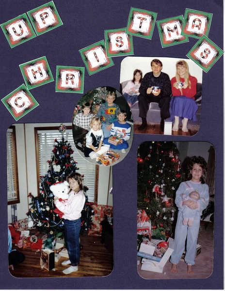 GROWING UP CHRISTMAS