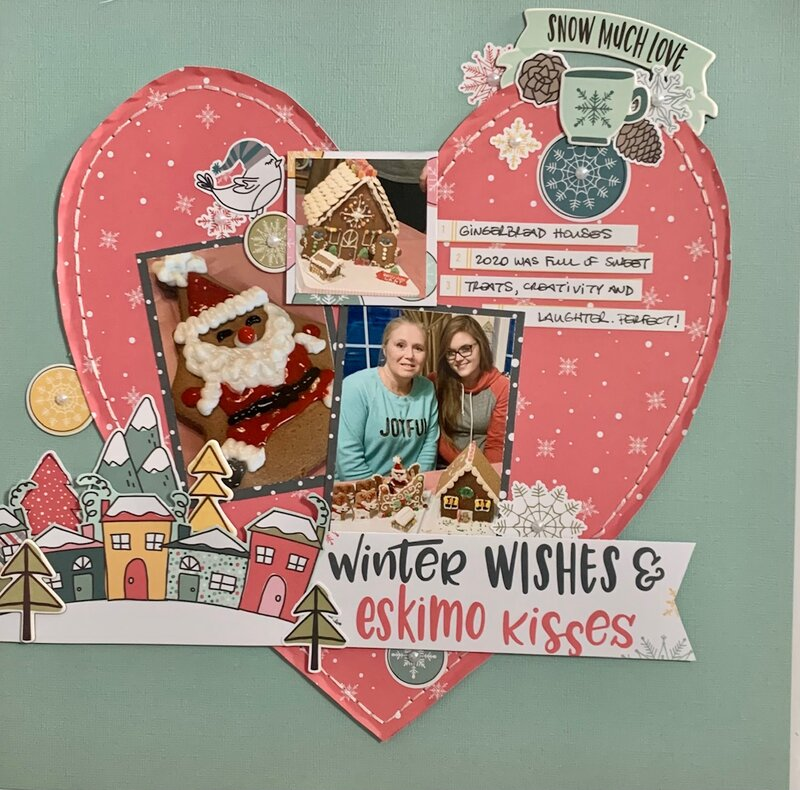 Gingerbread House Winter Wishes