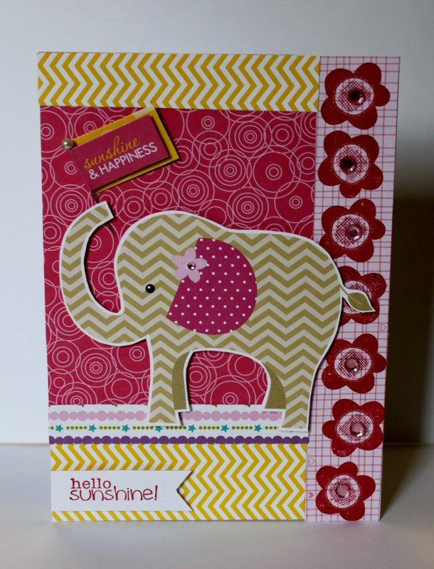 Hello Sunshine Baby Card