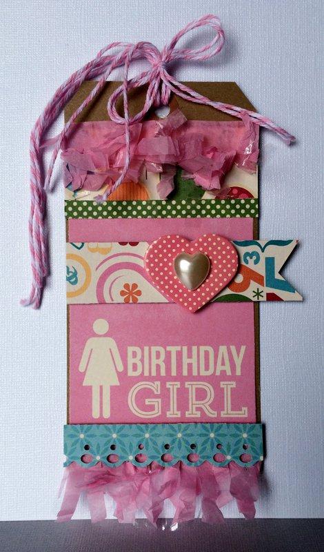 Birthday Girl Tag