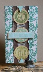 Birthday Medallions Card
