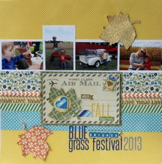 Bluegrass Fall Festival Layout