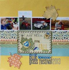 Bluegrass Fall Festival Layout