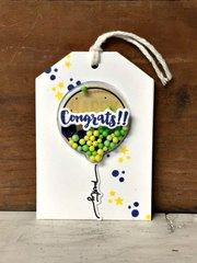 Congrats Shaker Tag