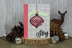 *Jillibean Soup* Joy Ornament Shaker Card