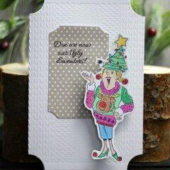 *Hampton Art* Our Ugly Sweaters Christmas Card