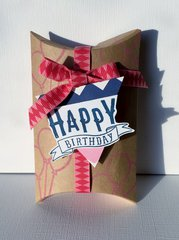 Birthday Pillow Box