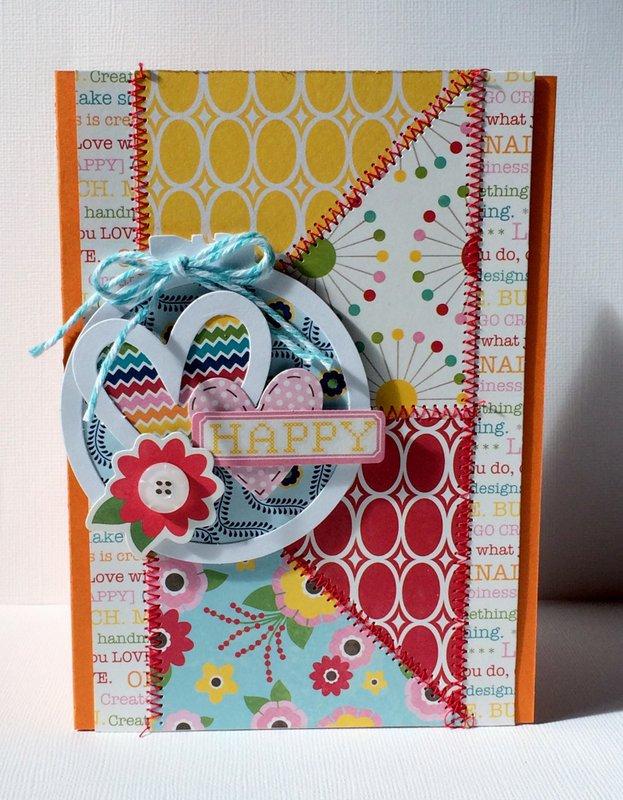 Sew Happy Card